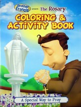 Brother Francis The Rosary Coloring & Activity Book Children's Brand NEW - $8.20