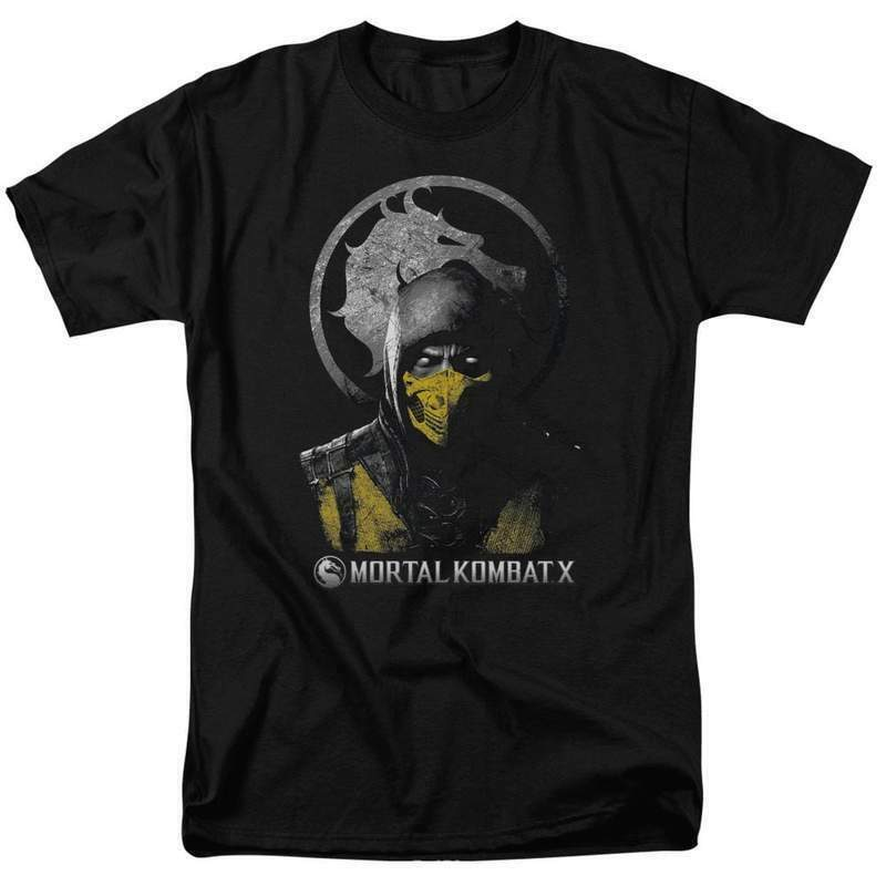 Mortal Combat X Retro 90's Fantasy fighting video game graphic t-shirt WBM423