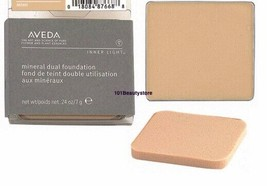 AVEDA inner light mineral dual foundation .24oz / 7g **Please Select Col... - $39.50