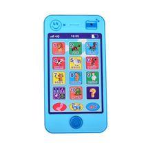 Kids Blue Russian Baby Language ABC Alphabet Music Math Education Phone Toy - $13.80