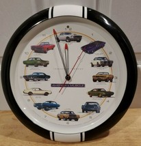 "American Muscle Cars ""Legends of the Road"" Wall Clock Hot Rod Car Rev So... - $29.02"
