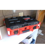 MILWAUKEE PACKOUT 48-22-8424 CASE WITH DRILL-IMPACT COMBO INSERT & CHARGER. NEW - $84.50