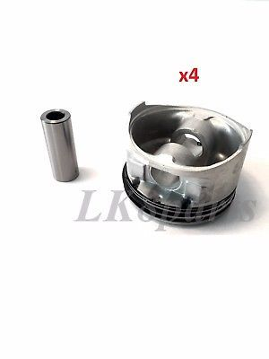 LAND ROVER DISCOVERY RANGE ROVER DEFENDER HIGH COMPRESSION PISTON ENGINE SET x4 - $287.10