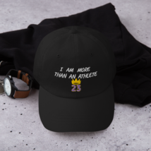 I Am More Than An Athlete Hat / King James / Basketball Dad hat image 2