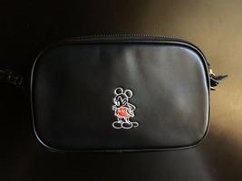 NWT Coach x Disney Ltd Edition Mickey Mouse Black Crossbody Clutch 66150 - $298.07 CAD