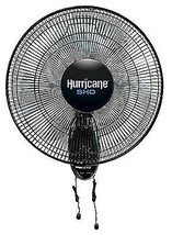 Hurricane 736512 SHO Oscillating Wall Mount Fan - $53.47