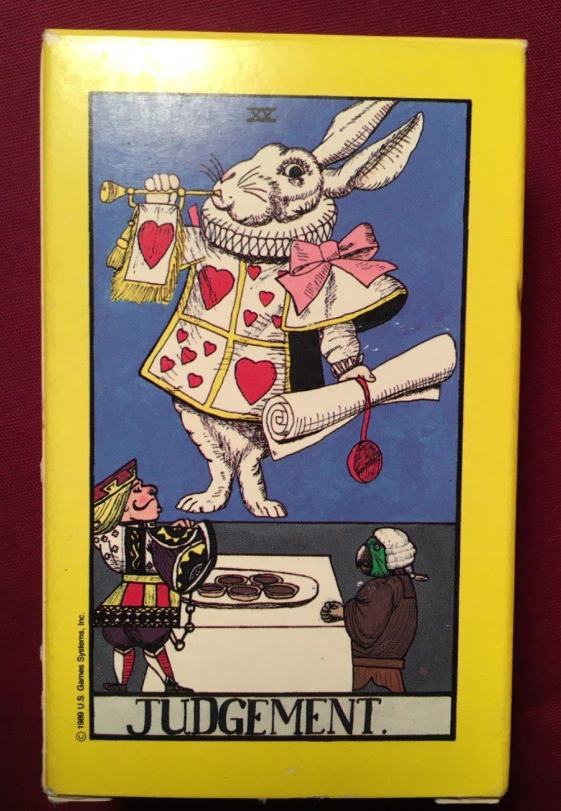 Wonderland Tarot 78 Card Deck New 1st