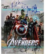 THE AVENGERS CAST 9 SIGNED AUTOGRAPH 8x10 RP PHOTO STAN LEE JOHANSSON HE... - $18.99