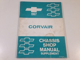 1967 Chevrolet Corvair Factory Chassis Shop Manual Supplement Original OEM - $14.99