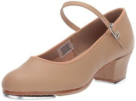 Bloch Women's Show-Tapper Dance Shoe, tan, 5 Medium US - $47.55