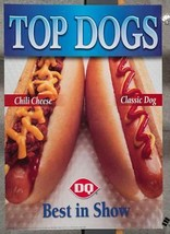 Dairy Queen Promotional Poster Top Dogs Hot dogs dq2 - $40.30