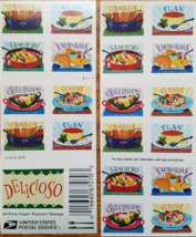 USPS 'Delicioso' 2016 Stamp Sheet of 20 Forever, New - $14.95