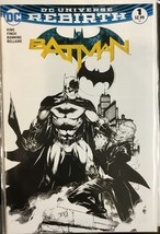 Batman #1 Dc 2016 Comic Madness Color Variant Ed Benes Tom King Ltd 3500 B/W - $68.59