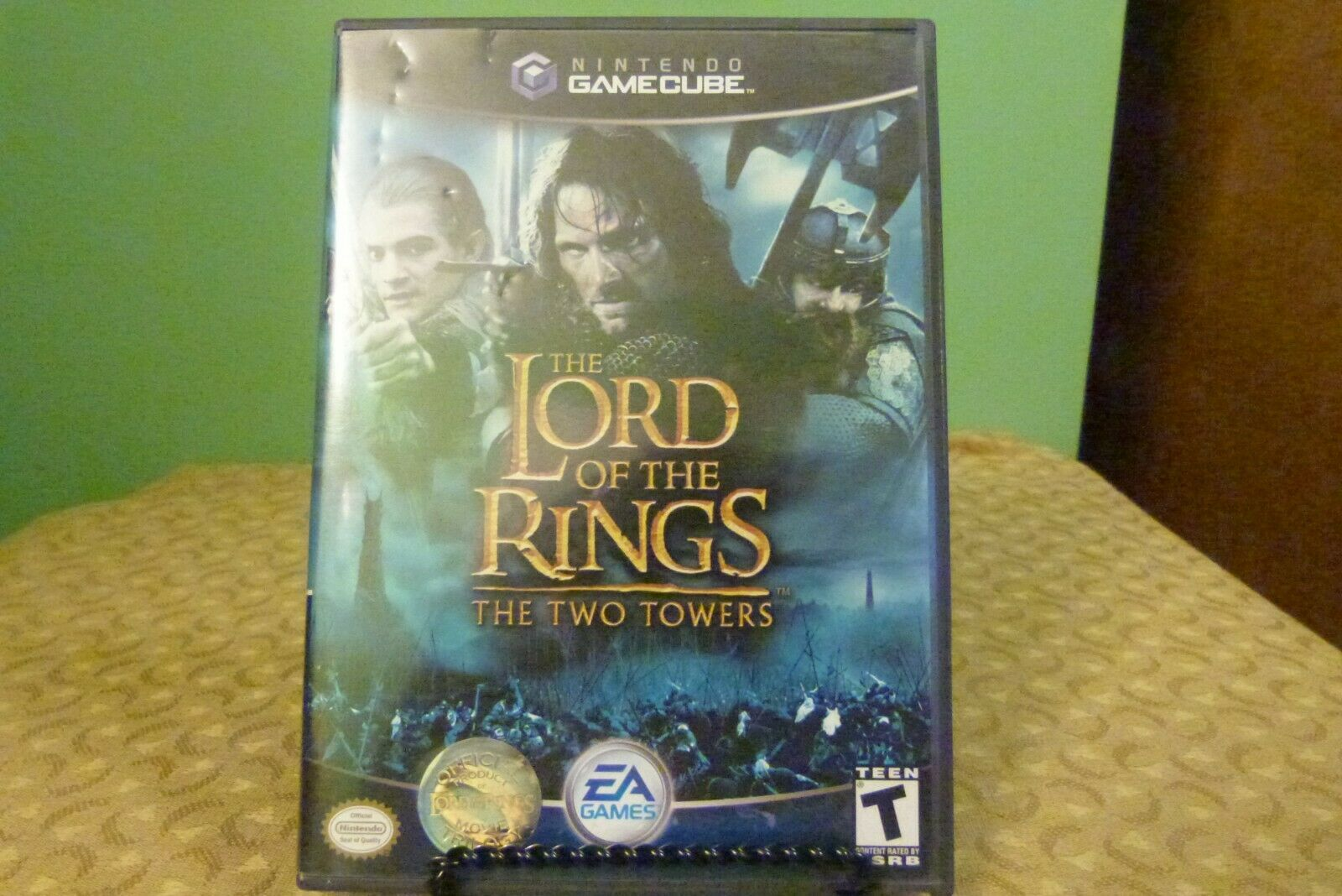 Primary image for Lord of the Rings: The Two Towers Player's Choice (Nintendo GameCube, 2004) VG