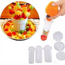 Fruit Cutter Slicer Veggie Food Creative DIY Decorator Kitchen Decor Gad... - €6,93 EUR