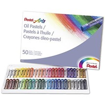 Pentel Arts Oil Pastels, 50 Color Set (PHN-50) - $11.10