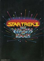 Star Trek Ii: The Wrath Of Khan Movie Program Book, 1982 Excellent Condition - $17.34