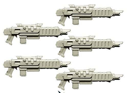Spellcrow 28mm Conversion Bits Guards Improved Laser Guns (Miniature Toy Part)