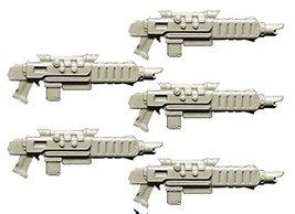 Spellcrow 28mm Conversion Bits Guards Improved Laser Guns (Miniature Toy Part)