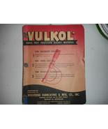 1947 Vulkol Gasket Material Salesman's Sample or Advertising Book - $19.00