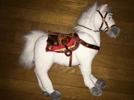 "* Disney Maximus Plush White Horse Rapunzel Tangled 15"" Stuffed Animal Toy - $14.85"