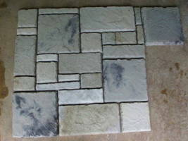 58 Concrete Molds Make 1000s of Cement Stone Pavers, Floor Wall Tiles, Fast Ship image 6