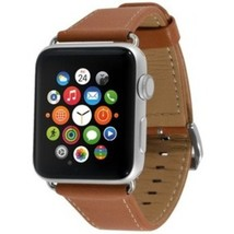End-Scene 5031300092209 1.5-inch Band for Apple Watch - Leather Camel - $33.09