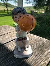 Vintage Gift World of Gorham Made in Japan Porcelain Moppets Basketball ... - $14.89