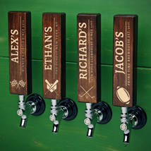 Athletic Icons Personalized Wood Tap Handle - $55.95