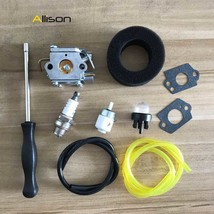 753-04333 Carburetor Air Fuel Filter Kit For Ryobi 410R 600R 705R 725R 7... - $18.38