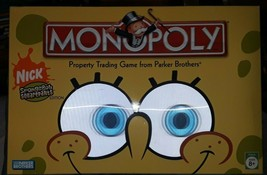 Parker Brothers Spongebob SquarePants Monopoly - $14.84