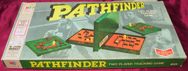 VINTAGE PATHFINDER 1970's MILTON BRADLEY BOARD GAME COMPLETE SET TWO PLA... - $24.74