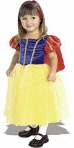 Toddler and Girls Snow White Halloween Costume   - $19.00