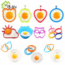 Creative Fried Egg Silicone Mold Shaper Pancake Ring Mould Kitchen Cooki... - $1.29+