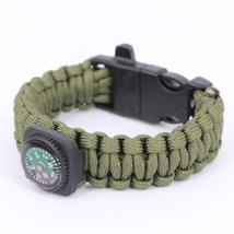 Survival Bracelets with Fire Starter Outdoor Self-rescue - One item (Color vary) image 3