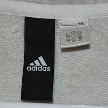 adidas Sport ID Women's Gray Crew Neck Athletics Logo Sweatshirt Size S image 3