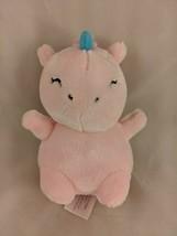 "Animal Adventure Pink Unicorn Plush 6"" 2019 Stuffed Animal Toy - $8.75"