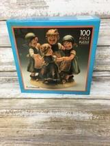 Schmid M.I. Hummel Hum 348 Ring Around Rosie 100 Piece Puzzle Game New Sealed - $9.49