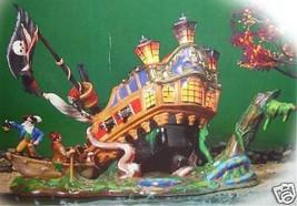 Department 56 Ship of Sea Phantoms Halloween Village Spooky Lights Free ... - £47.80 GBP