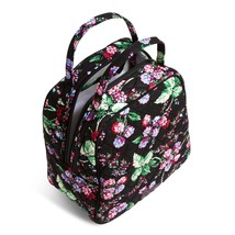 Vera Bradley Quilted Signature Cotton Lunch Bunch Lunch Bag, Winter Berry image 2