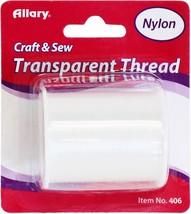 Allary Transparent Nylon Thread 150yd-Clear - $20.71