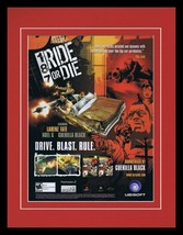 187 Ride or Die 2005 PS2 Xbox 11x14 Framed ORIGINAL Vintage Advertisement - $32.36