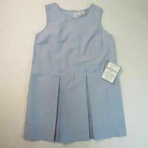 Nwt Becky Thatcher Pulli Faltenrock Schuluniform Farbe Blu Modell 94 - $25.10