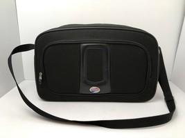 """American Tourister Vegan Carry On Shoulder Bag Black 16"""" Lightweight Sof... - $13.32"""