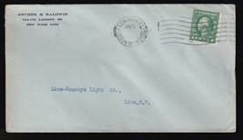 ARCHER & BALDWIN NEW YORK NY HUDSON TERM STA 1915 - $1.78