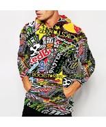 Racing Stikcerbomb Misfits Rockstar     Hoodie Fullprint for men - $40.99+