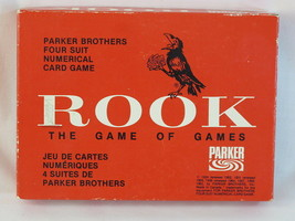 ROOK 1964 Red Box Card Game Parker Brothers 100% Complete Excellent Plus ^^^ - $28.59