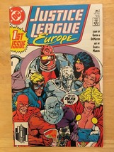 Justice League Europe #1 1989 DC Comic Book NM Condition 1st Printing - $2.69