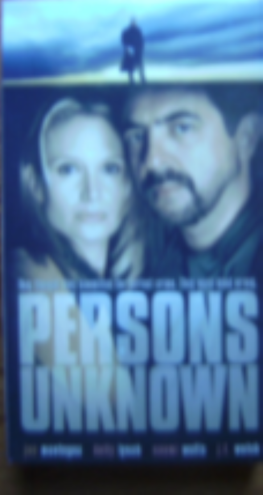 Persons Unknown Vhs