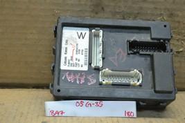 2005 Infiniti G35 Body Control Module BCM 284B1AC700 Unit 180-8a7 - $27.99
